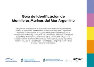 Guía de Identificación de Mamíferos Marinos