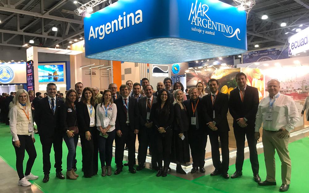MAR ARGENTINO se presentó nuevamente en Moscú y en Vigo
