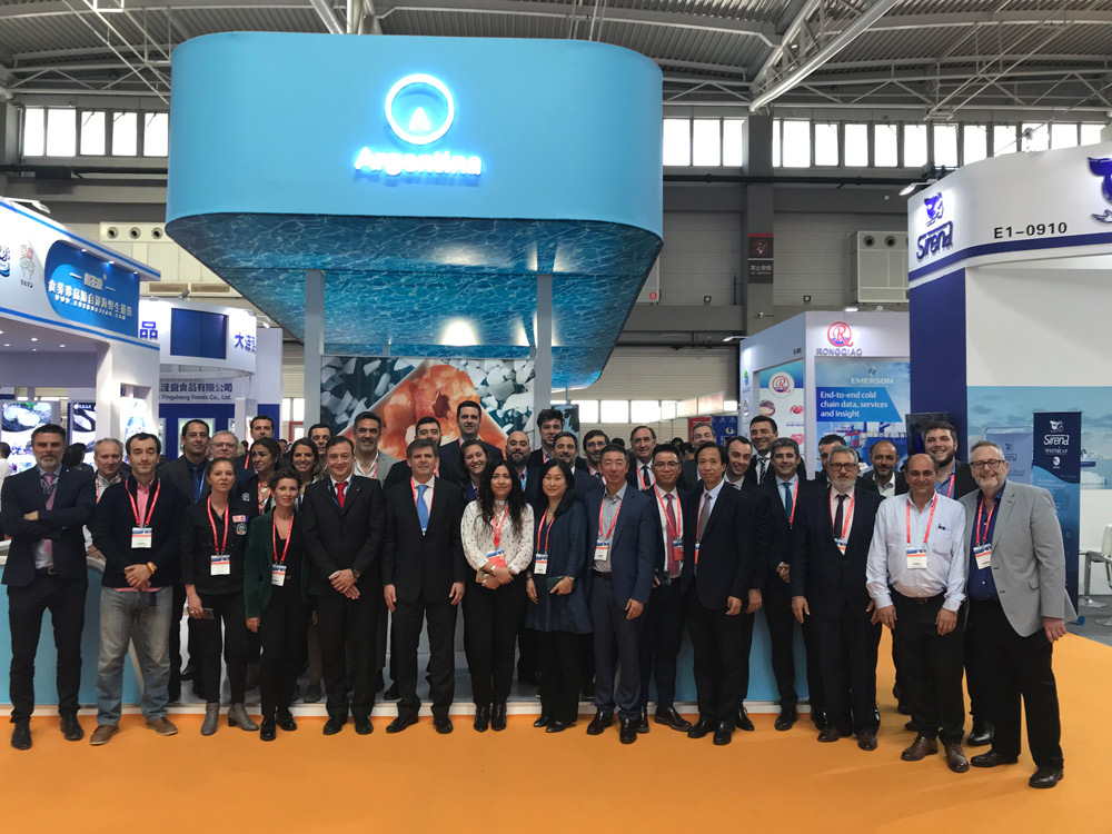 MAR ARGENTINO en la China Fisheries & Seafood Expo